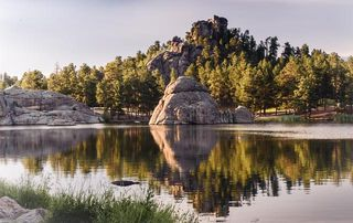Sylvan Lake Custer State Park SD