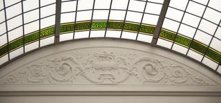Quawpaw skylight bas relief