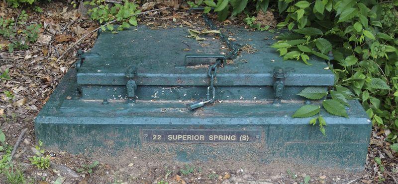 Superior springs cap