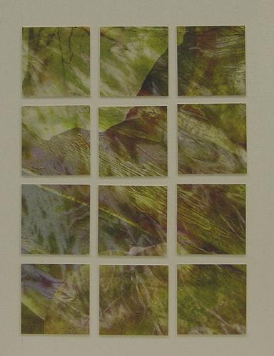 Digital silk collage